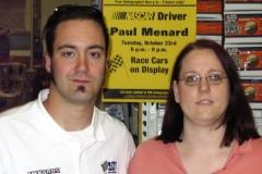 Meeting Paul Menard